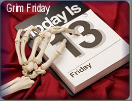 Grim Friday 13th Data facts